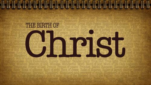 Birth of Christ PowerPoint Template 1