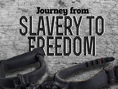 From Slavery to Freedom PowerPoint Template 1