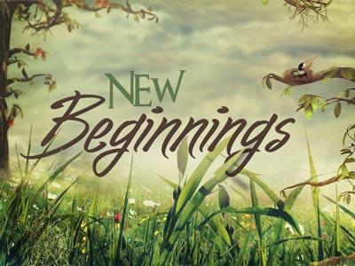 New Beginnings PowerPoint Template 1