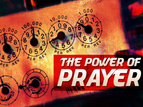 Power of Prayer PowerPoint Template 1