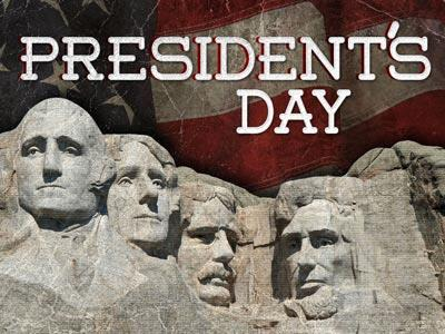 Presidents Day PowerPoint Template 1