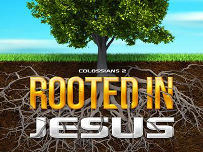 Rooted in Jesus PowerPoint Template 1