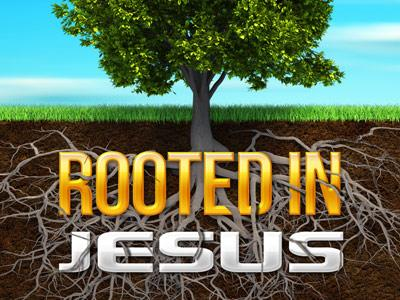 Rooted in Jesus PowerPoint Template 2