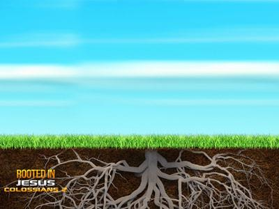 Rooted in Jesus PowerPoint Template 5