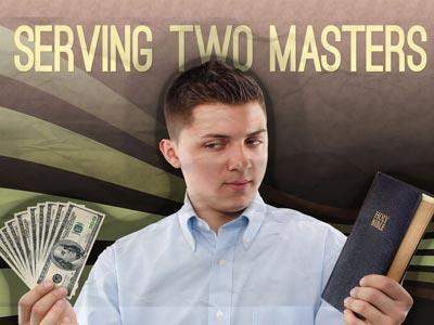 Serving Two Masters PowerPoint Template 1