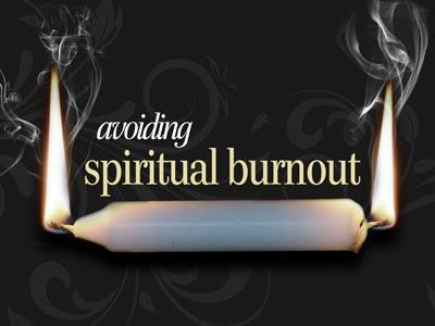 Spiritual Burnout PowerPoint Template 1