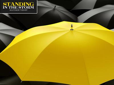 Standing in the Storm PowerPoint Template 2
