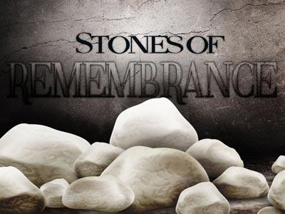 Stones of Remembrance PowerPoint Template 1