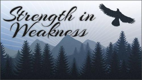 Strength in Weakness PowerPoint Template