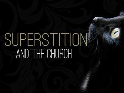 Superstition and the Church PowerPoint Template 1