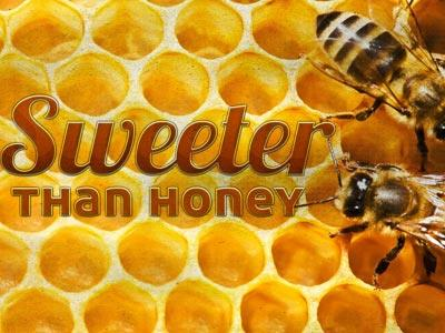 Sweeter than Honey PowerPoint Template 1