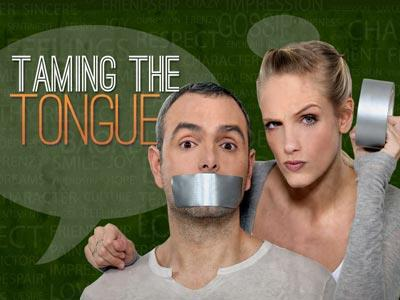 Taming the Tongue PowerPoint Template 1