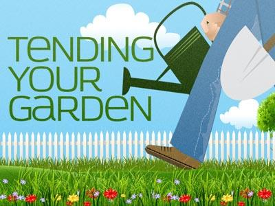 Tend Your Garden PowerPoint Template 1