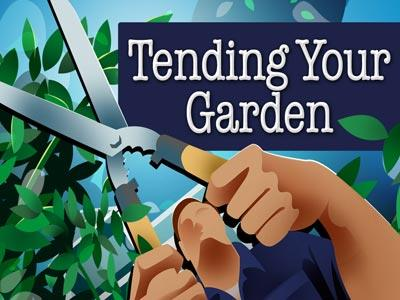 Tending Your Garden PowerPoint Template 1