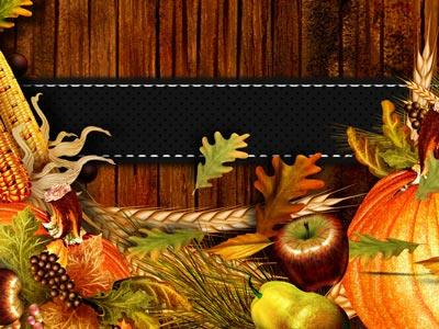 Thanksgiving Coming PowerPoint Template 2