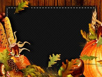 Thanksgiving Coming PowerPoint Template 3