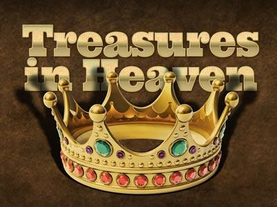 Treasures in Heaven PowerPoint Template 1