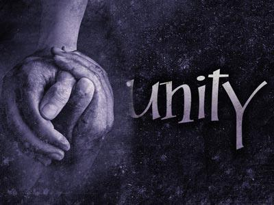 Unity Hands PowerPoint Template