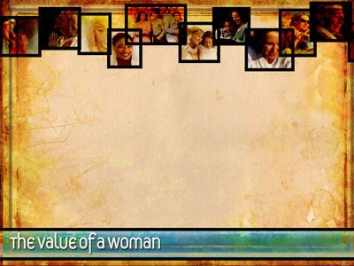 Value of a Woman Preaching Slide