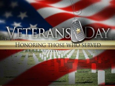 Veterans Day Honor PowerPoint Template 1