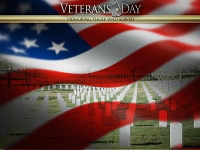Veterans Day Honor PowerPoint Template 3
