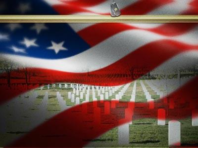 Veterans Day Honor PowerPoint Template 4
