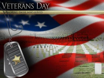 Veterans Day Honor PowerPoint Template 5
