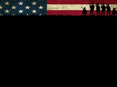 Veterans Day Soldiers PowerPoint Template 4