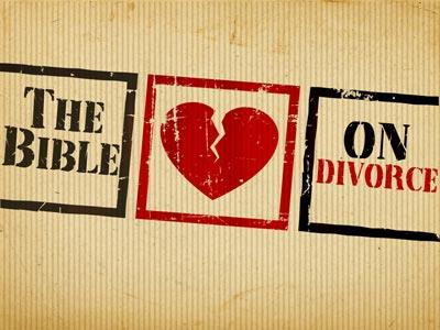 The Bible on Divorce Preaching Slide
