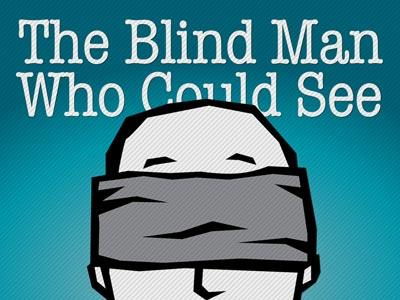 The Blind Man Who Could See PowerPoint Template 1