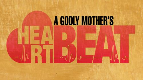 A Godly Mothers Heartbeat PowerPoint Template 1