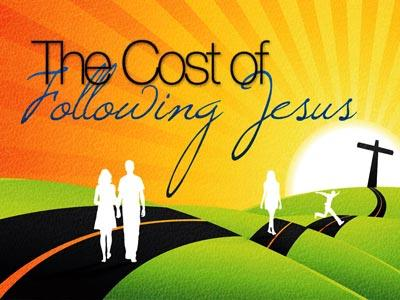 The Cost of Following Jesus PowerPoint Template 1
