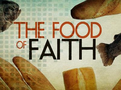 The Food of Faith PowerPoint Template 1