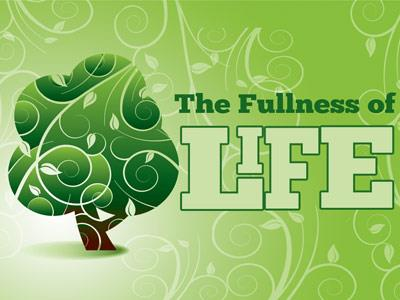 The Fullness of Life PowerPoint Template 1