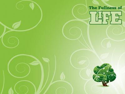 The Fullness of Life PowerPoint Template 5