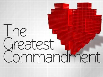 The Greatest Commandment PowerPoint Template 1