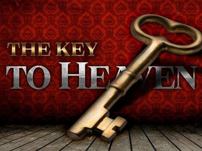 The Key to Heaven PowerPoint Template 1
