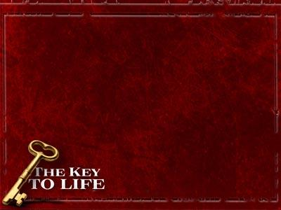 The Key to Life PowerPoint Template