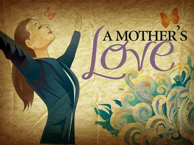 The Love of a Mother PowerPoint Template 1
