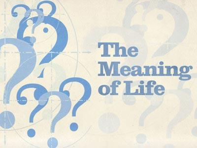 The Meaning of Life PowerPoint Template 1