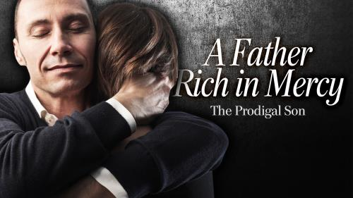 A  Father  Rich in  Mercy PowerPoint Template 1