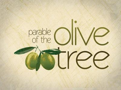 Church Powerpoint Template The Parable Of The Olive Tree