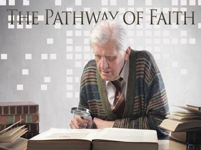 The Pathway of Faith PowerPoint Template 1