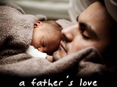 A  Father's  Love PowerPoint Template 1