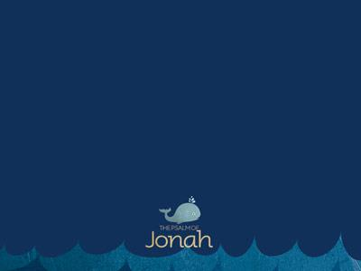 The Psalm of Jonah PowerPoint Template 5