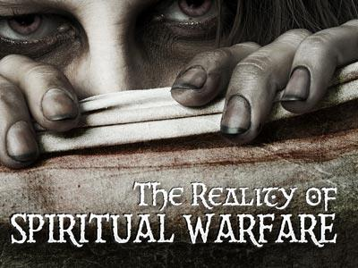 The Reality of Spiritual Warfare PowerPoint Template 1