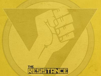 The Resistance PowerPoint Template 3