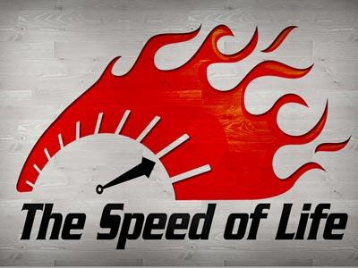 The Speed of Life PowerPoint Template 1