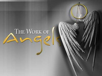The Work of Angels PowerPoint Template 1