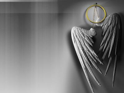 The Work of Angels PowerPoint Template 2